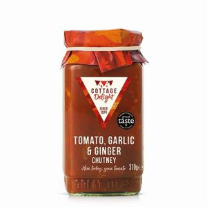 Tomato, Garlic & Ginger Chutney