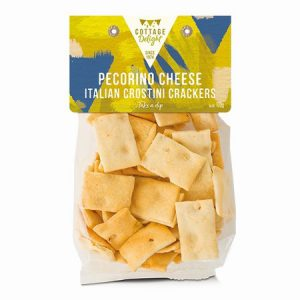 Pecorino Cheese Crostini Crackers