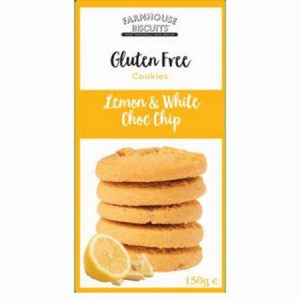 Gluten Free Lemon & White Choc Chip : 150g