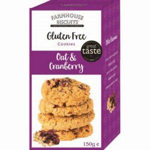 Gluten Free Oat & Cranberry : 150g