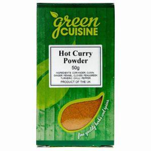 Green Cuisine Hot Curry Powder : 50g