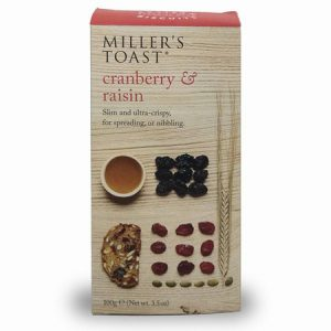 Miller's Toast Cranberry & Raisin ; 100g