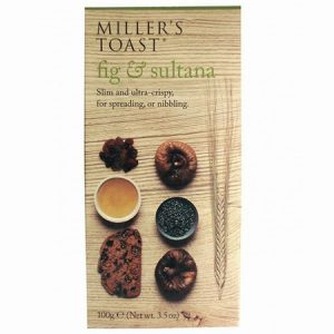Millers Fig & Sultana Toast : 100g