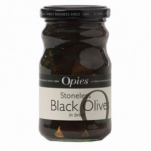Opies Black Olives : 227g