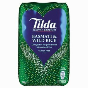 Tilda Basmati & Wild Rice:500grm