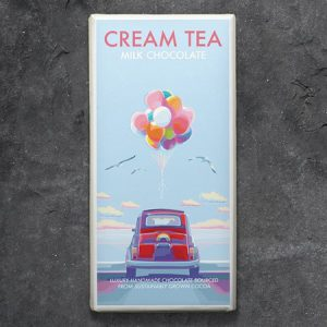 Cream Tea Milk Chocolate : 100g