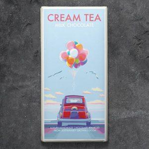 Cream Tea Milk Chocolate : 100g