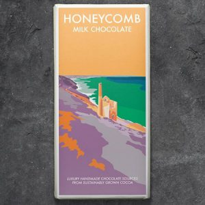 Honeycomb Milk Chocolate : 100g