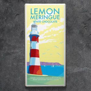 Lemon Meringue White Chocolate :100g