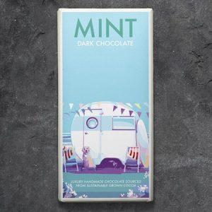 Mint Dark Chocolate : 100g