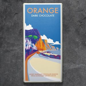Orange Chocolate Dark : 100g