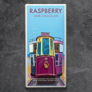 Raspberry Dark Chocolate : 100g