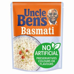 Uncle Bens Basmat Microwave Rice : 250g