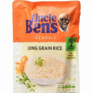 Uncle Bens Long Grain Rice : 250g