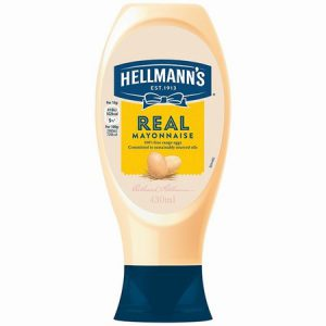 Hellmans Squeezy Mayonnaise : 430ml