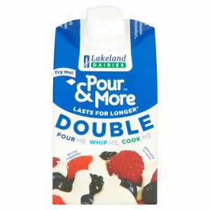 Pour & More Double Cream : 250ml