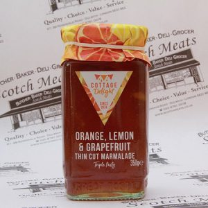 Orange, Lemon, Grapefruit Marmalade : 350g