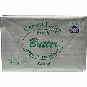 Carron Lodge Salted Butter : 250g