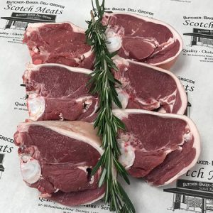 English Lamb Loin Chops : Min weight 120g per chop