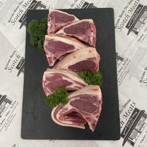 English Lamb Cutlets : Ave 110g Each