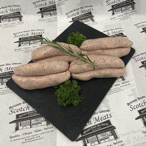 Lincolnshire Pork Sausage: Each Sausage weighs min 76g.