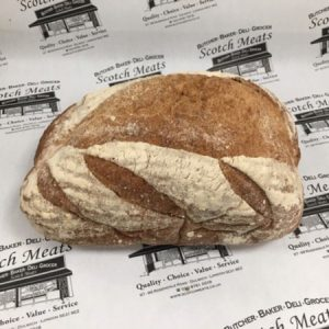 Brown Sourdough Unsliced