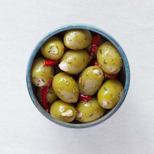 Garlic Provencal Olives