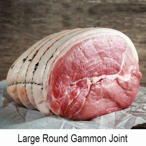 Unsmoked Gammon (Large Round)
