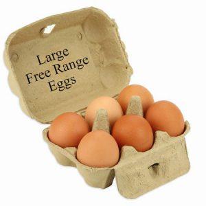 Large Free Range Eggs (6)
